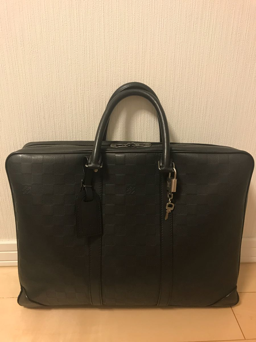 美品 ヴィトン アンフィニ PDV ビジネスバッグ ブリーフケース 書類鞄