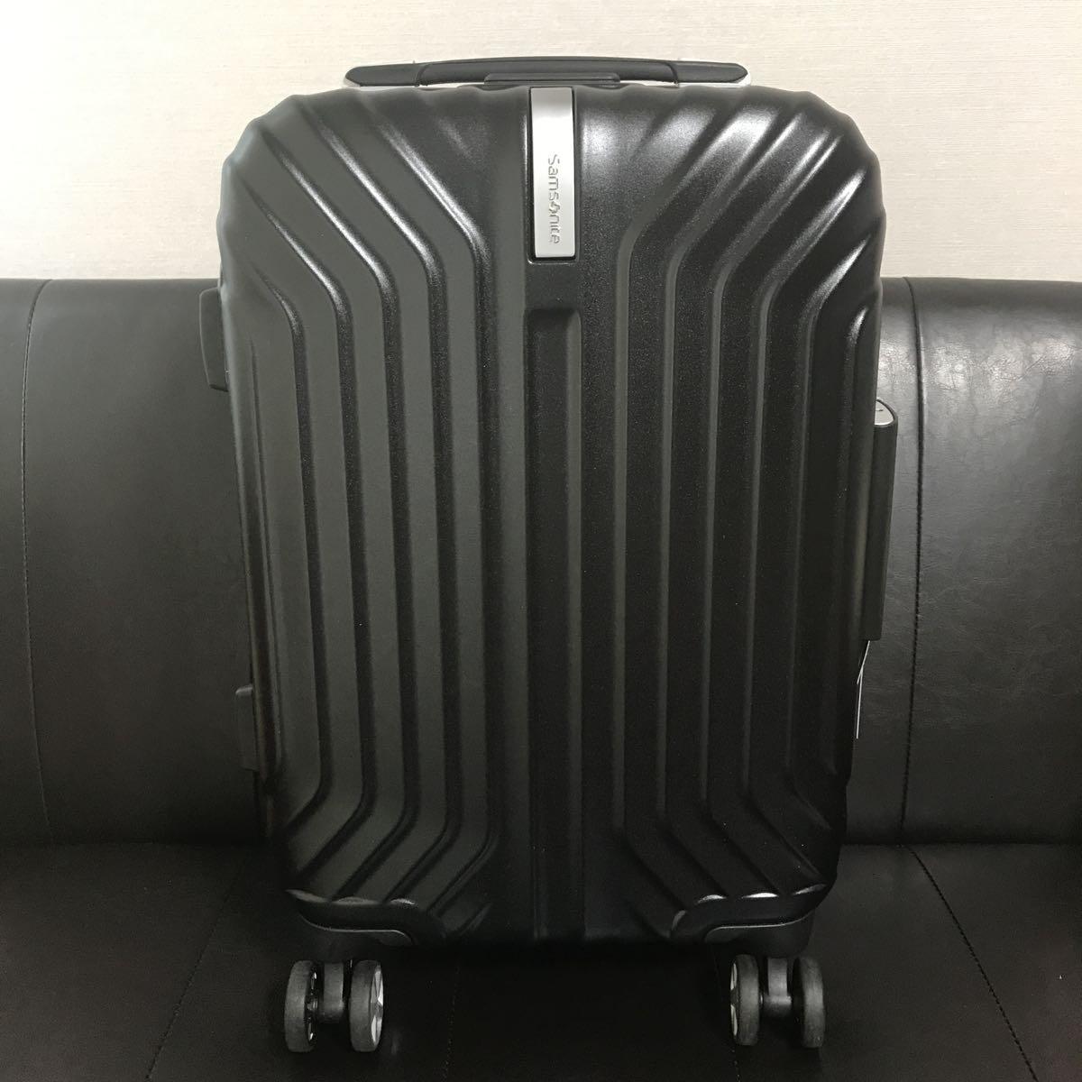 f0098aa297 【新品未使用品】 SAMSONITE サムソナイト スーツケース トゥルーフレーム スピナー55 32L 3.4kg 機内持込可 I00*51004  TRU-FRAME ブラック