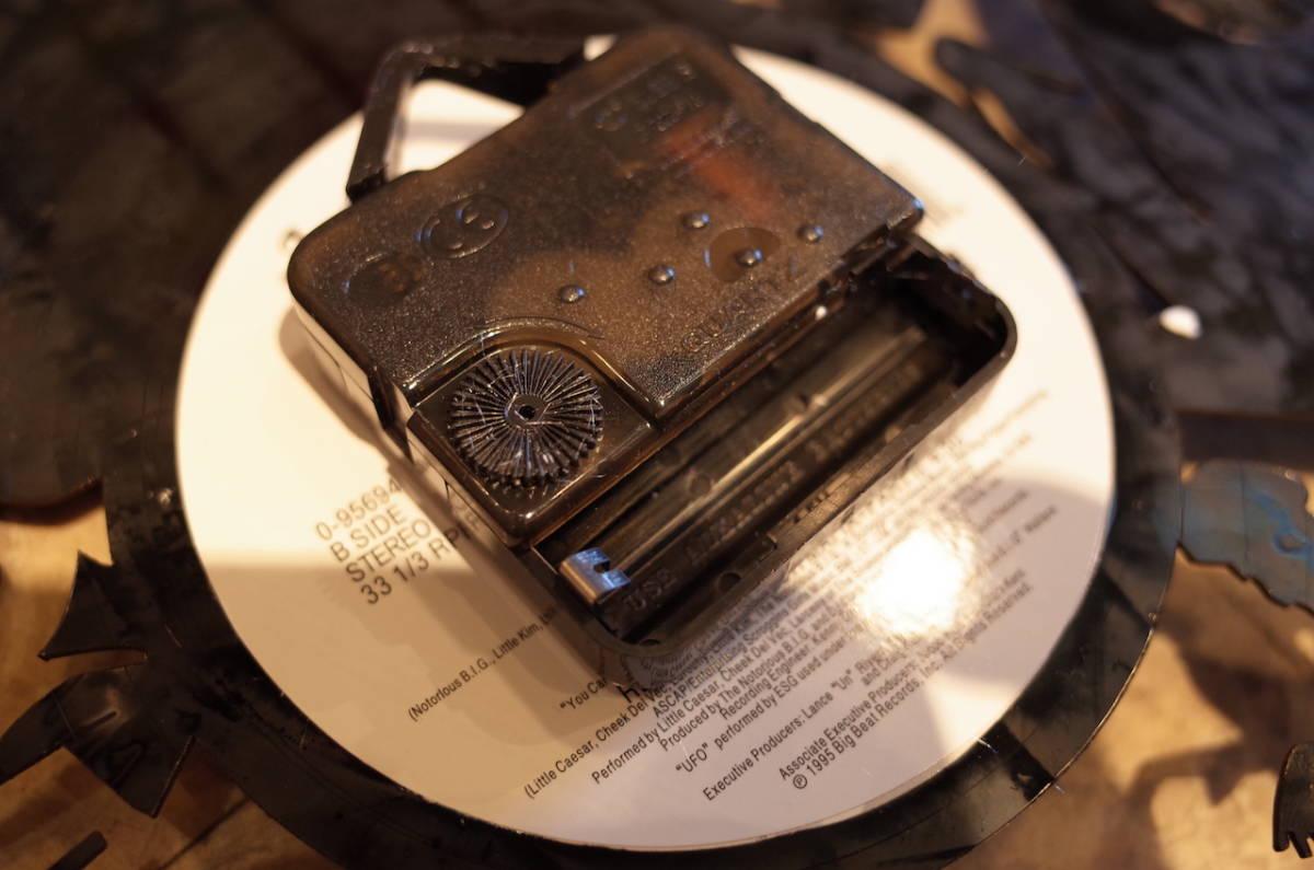 カジノ ラスベガス アメリカ $ コイン レコード クロック 時計 壁掛け時計 ウォールクロック POP DIY インテリア_画像2