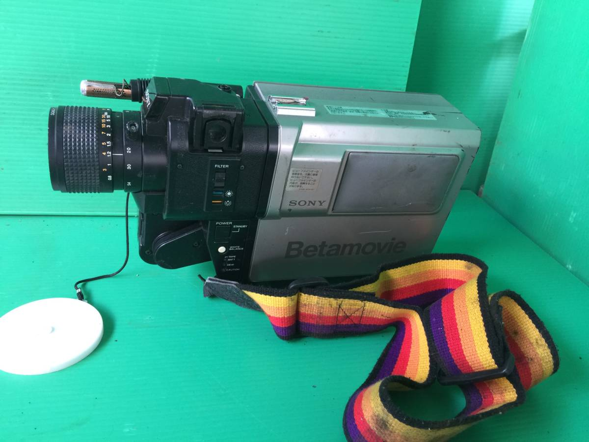 イー408  SONY ソニー ビデオカメラ Betamovie ベータムービー BMC-100 ジャンク