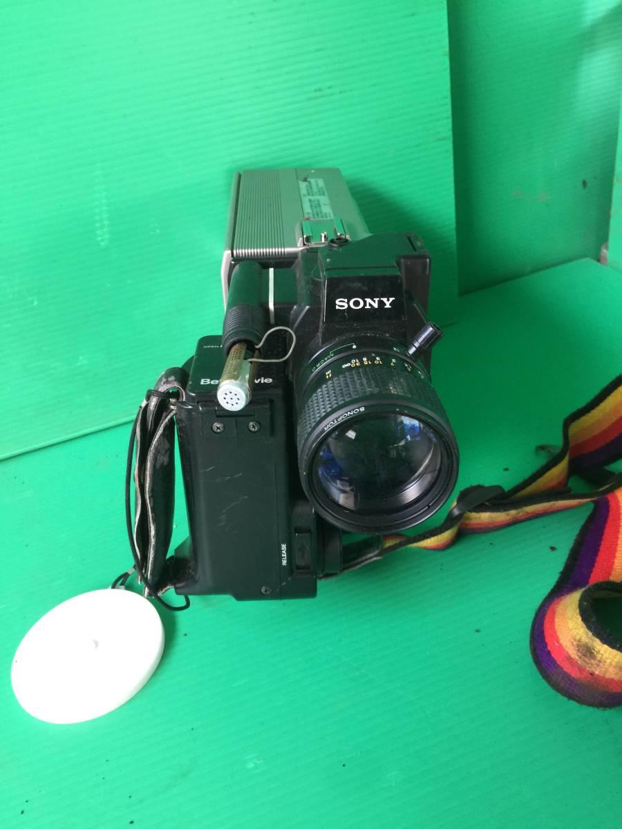 イー408  SONY ソニー ビデオカメラ Betamovie ベータムービー BMC-100 ジャンク_画像2