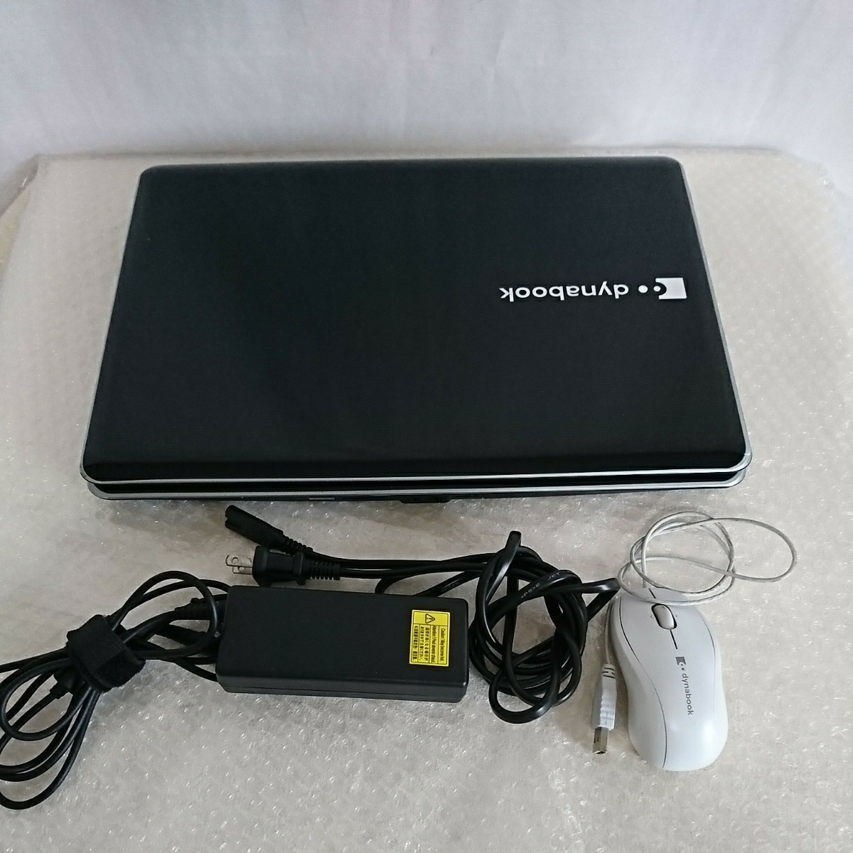 TOSHIBA 東芝 dynabook AX/53HBL Celeron 2GB 16型ワイド液晶 DVDマルチ Windows Vista ノートパソコン _画像2
