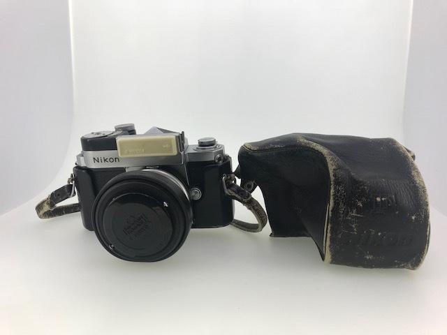 △ニコン F  カメラ NIKKOR-S  1:1.4 f=5.8cm ジャンク品
