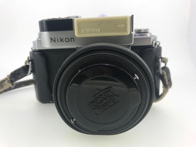 △ニコン F  カメラ NIKKOR-S  1:1.4 f=5.8cm ジャンク品_画像2