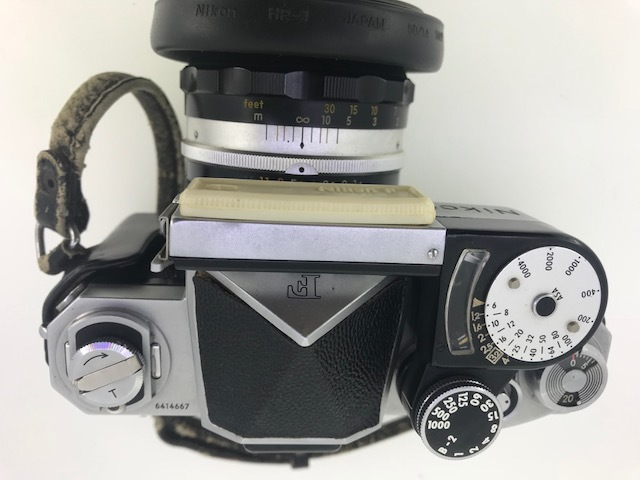 △ニコン F  カメラ NIKKOR-S  1:1.4 f=5.8cm ジャンク品_画像4