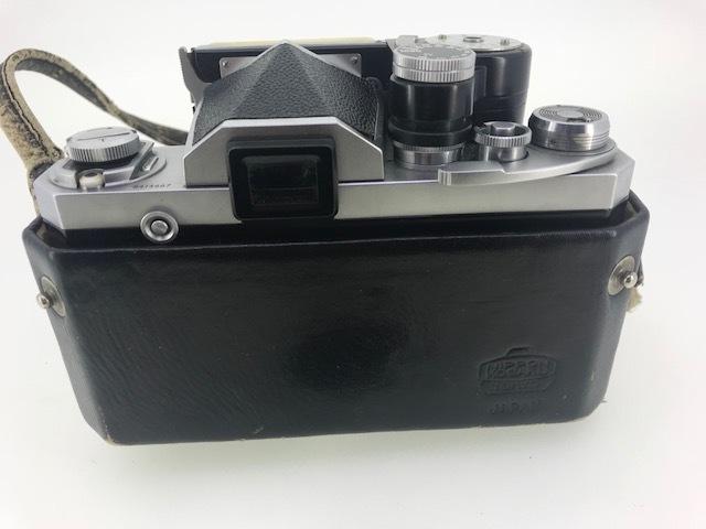 △ニコン F  カメラ NIKKOR-S  1:1.4 f=5.8cm ジャンク品_画像5