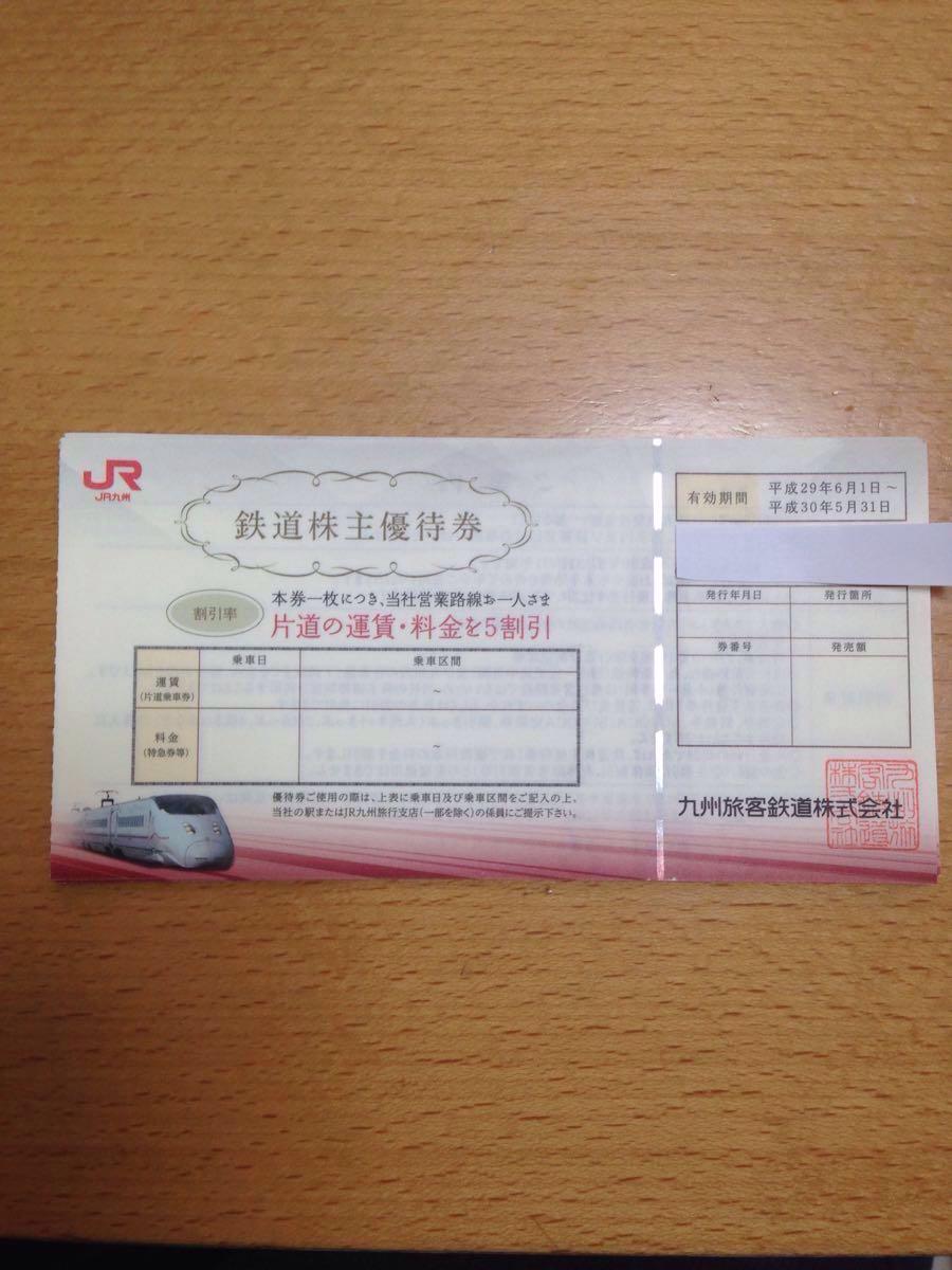 JR九州 鉄道株主優待券 2枚セット