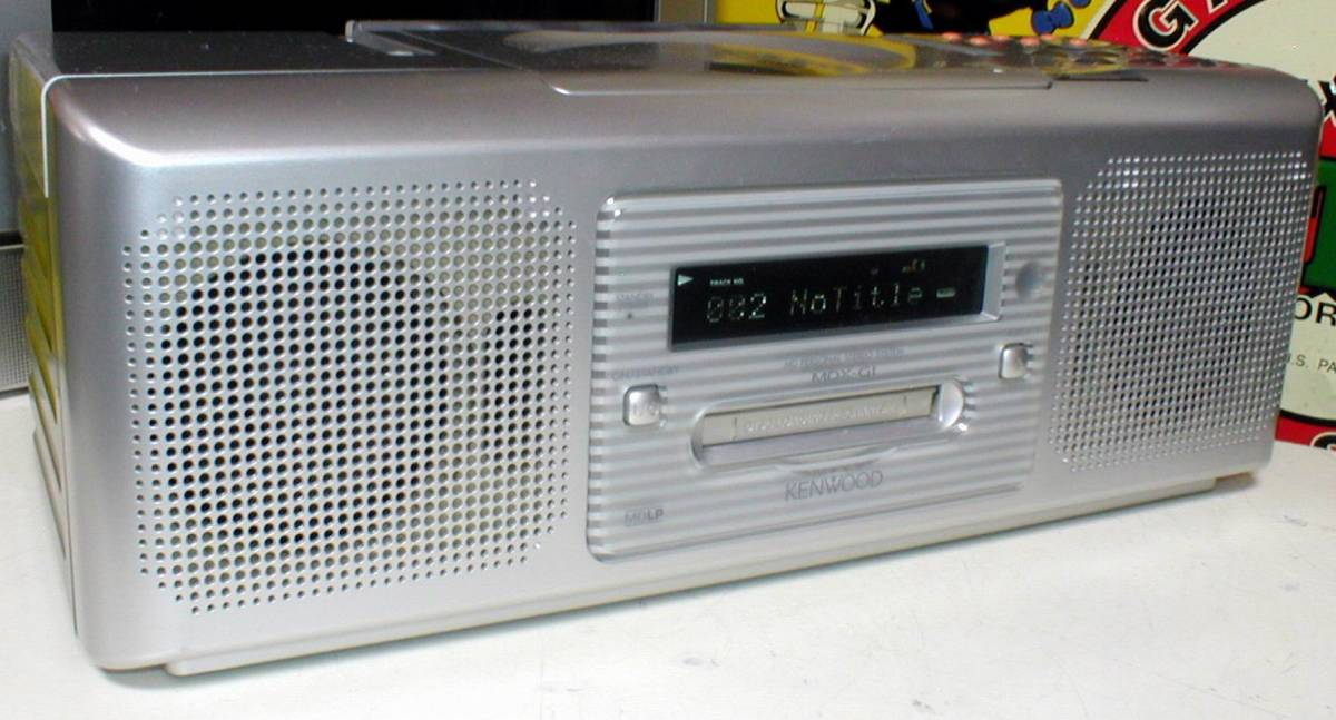 KENWOOD MDX-G1 Rampage MDLP/CD/AM-WideFM STEREO PERSONAL SYSTEM_画像3