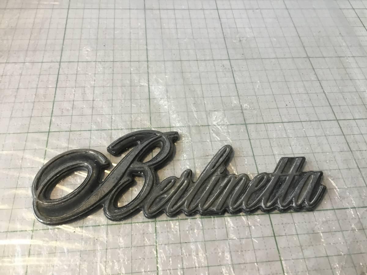 ベルリネッタ Berlinetta エンブレム GM シボレー chevrolet カマロ camaro USDM カスタム アメリカ アメ車 chevy_画像1