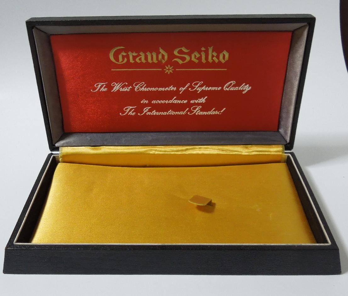 グランドセイコー ファーストモデルの箱 GRAND SEIKO 3180