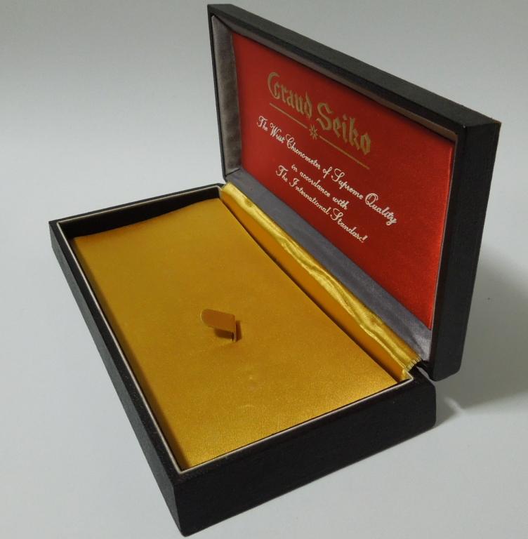 グランドセイコー ファーストモデルの箱 GRAND SEIKO 3180_画像3