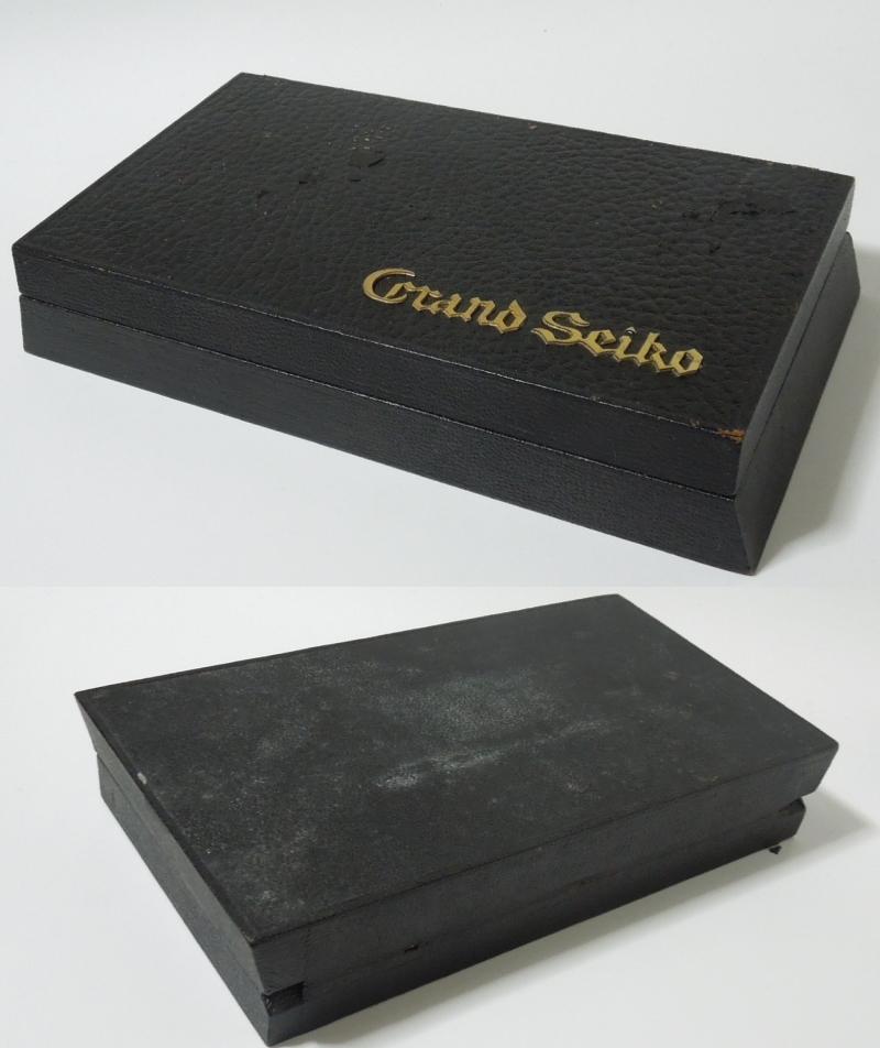 グランドセイコー ファーストモデルの箱 GRAND SEIKO 3180_画像2