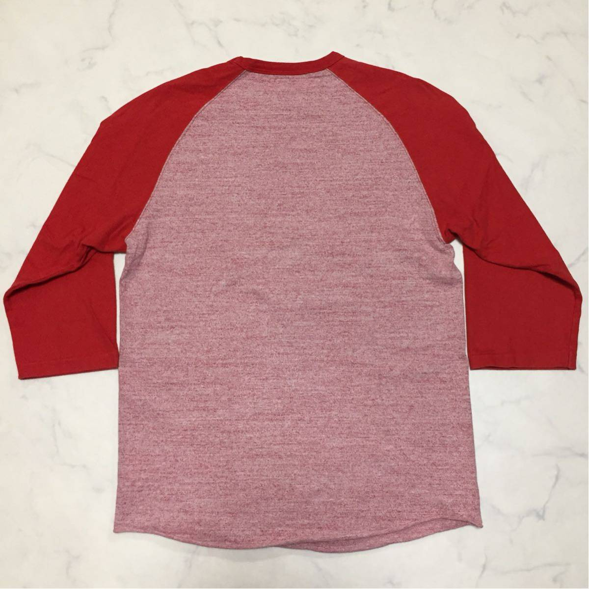 REAL McCOY'S リアルマッコイズ マッコイ ラグラン 7分丈Tシャツ 36 S_画像2