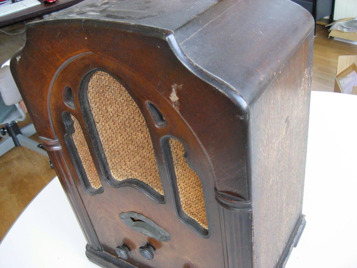 古い 真空管ラジオ 骨董品 ジャンク品 部品取り_画像5