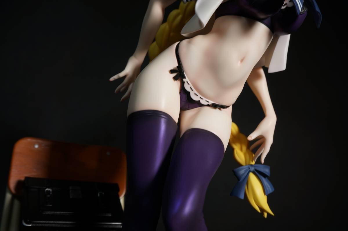 Fate/Apocrypha ジャンヌ・ダルク(お着替えジャンヌ)グリズリーパンダ 制服シリーズ ガレージキット 塗装済完成品 正規品ワンフェス_画像8