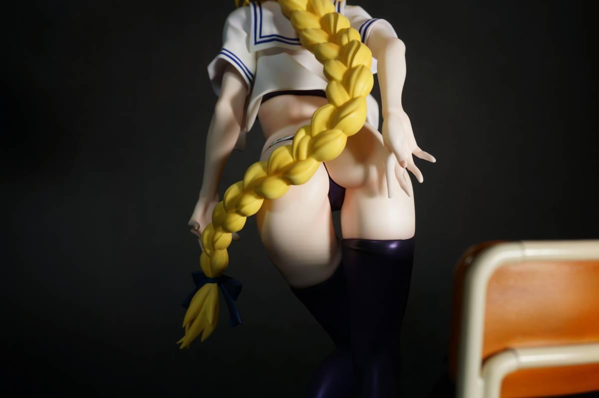Fate/Apocrypha ジャンヌ・ダルク(お着替えジャンヌ)グリズリーパンダ 制服シリーズ ガレージキット 塗装済完成品 正規品ワンフェス_画像10