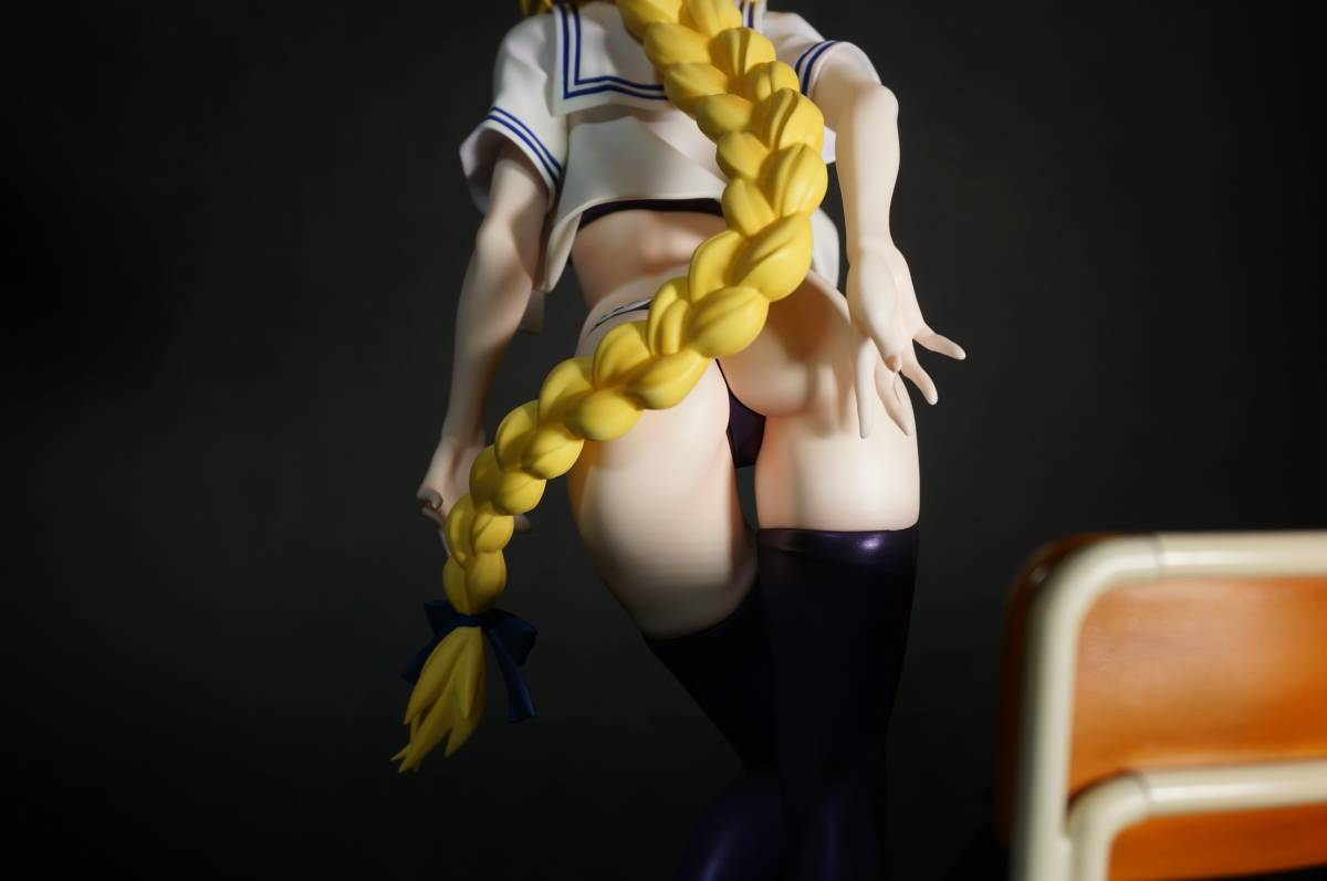 Fate/Apocrypha ジャンヌ・ダルク(お着替えジャンヌ)グリズリーパンダ 制服シリーズ ガレージキット 塗装済完成品 正規品ワンフェス_画像7