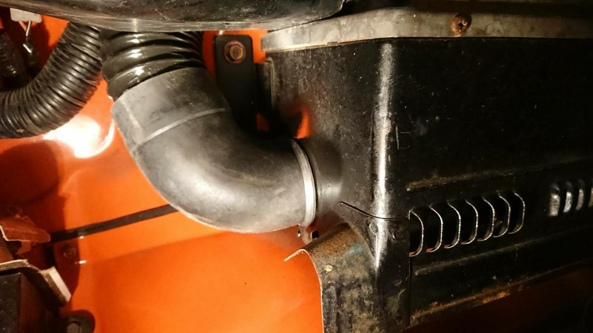 蛇腹 ジャバラ ヒーターホース TOYOTA FJ40 FJ43 BJ40 BJ43 トヨタ ランクル40 landcruiser heater horse 新品 左右2本 _画像9