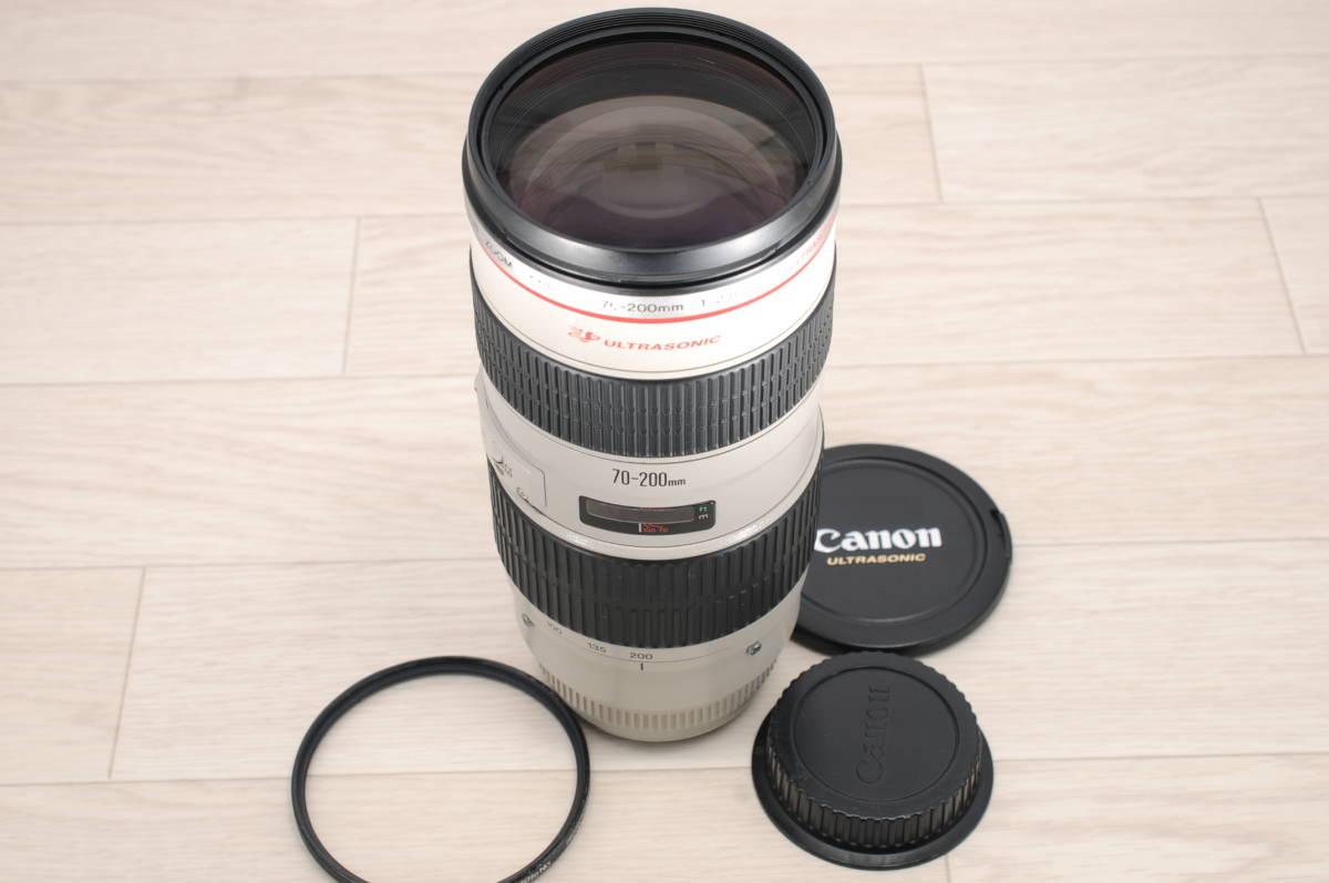 CANON ZOOM LENS EF 70-200mm F2.8 L USM