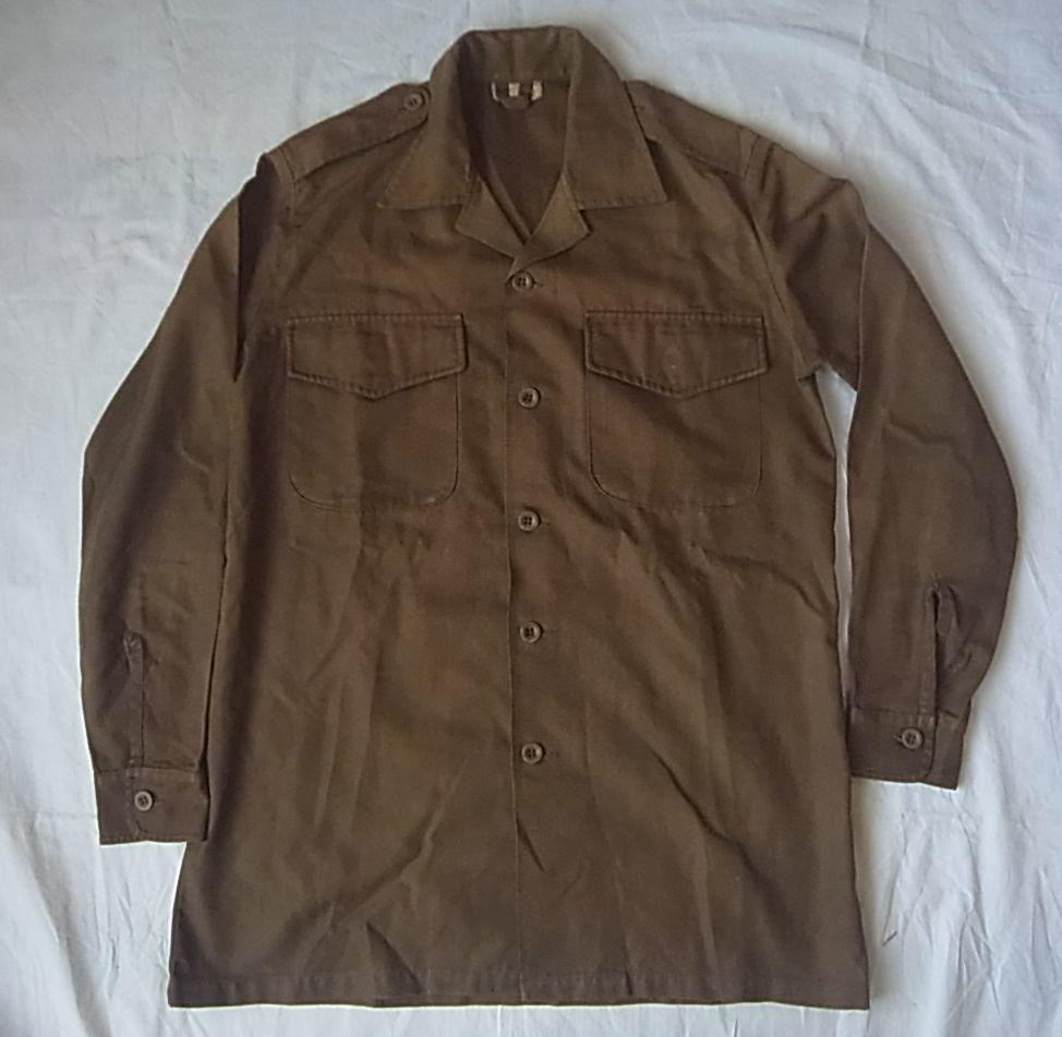 実物 南アフリカ軍 最初期型ニュートリアブラウン 戦闘服上下セット 真正コレクター向け 希少メーカー製 特殊部隊 RECCE 32大隊 _画像1