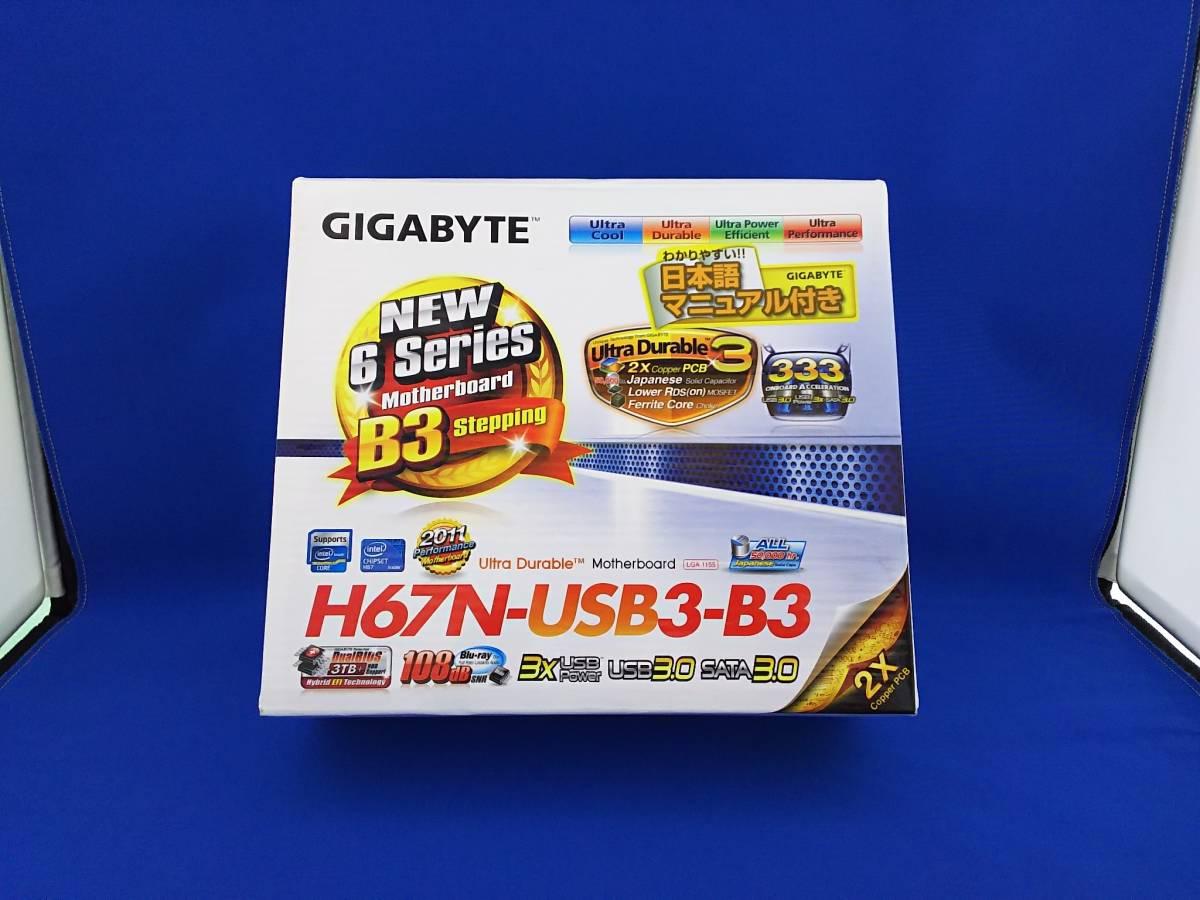GIGABYTE H67N-USB3-B3 LGA1155 Mini-iTXマザーボード