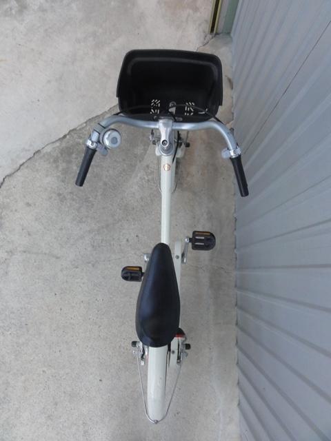 無印良品 16インチ 子供用自転車 白 補助輪付き 良品計画_画像3