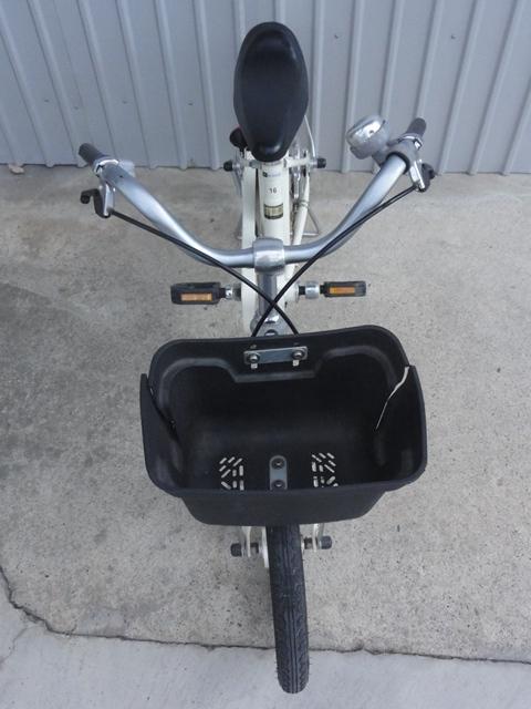 無印良品 16インチ 子供用自転車 白 補助輪付き 良品計画_画像2