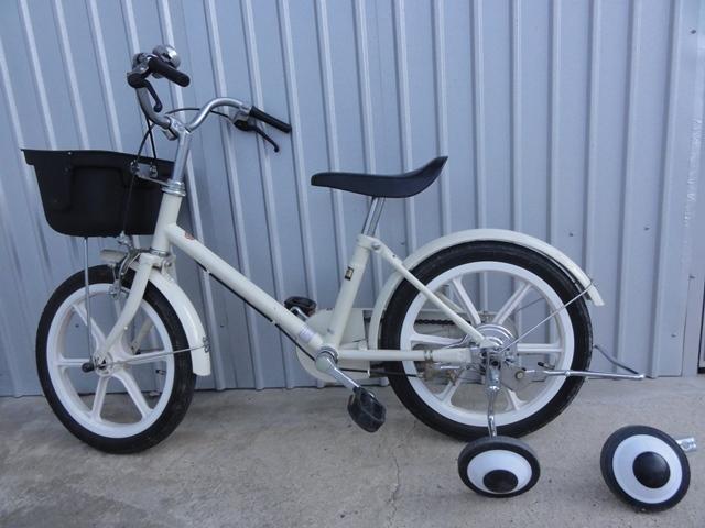 無印良品 16インチ 子供用自転車 白 補助輪付き 良品計画_画像8