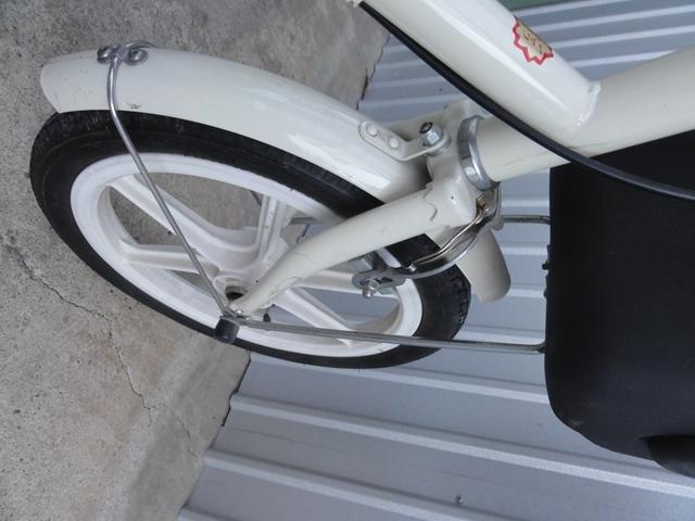 無印良品 16インチ 子供用自転車 白 補助輪付き 良品計画_画像6