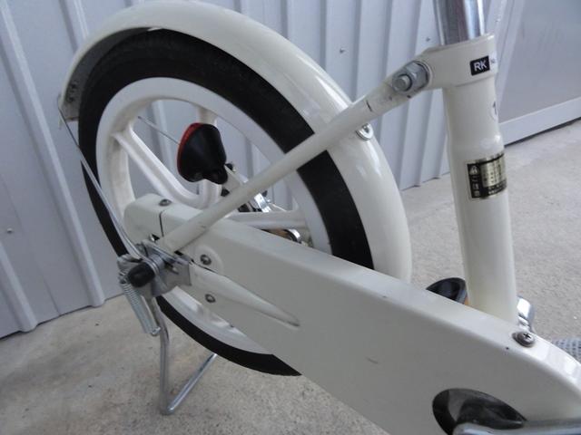 無印良品 16インチ 子供用自転車 白 補助輪付き 良品計画_画像5