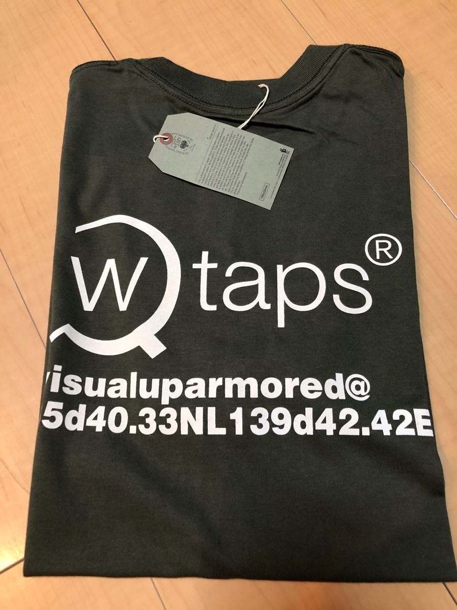 WTAPS GPS Tシャツ ダブルタップス 新品未使用 Lサイズ カーキ KAHKI