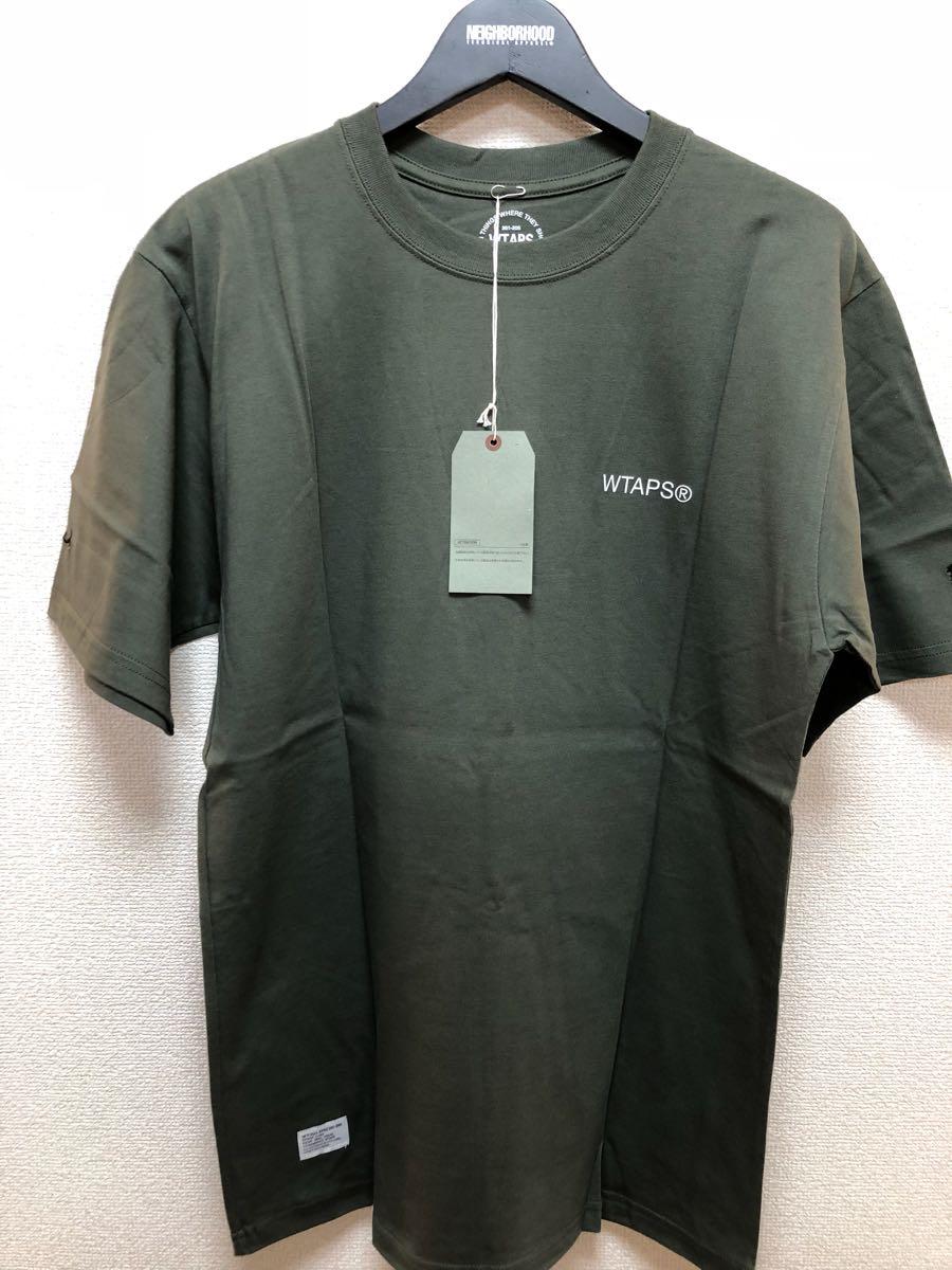 WTAPS GPS Tシャツ ダブルタップス 新品未使用 Lサイズ カーキ KAHKI_画像3