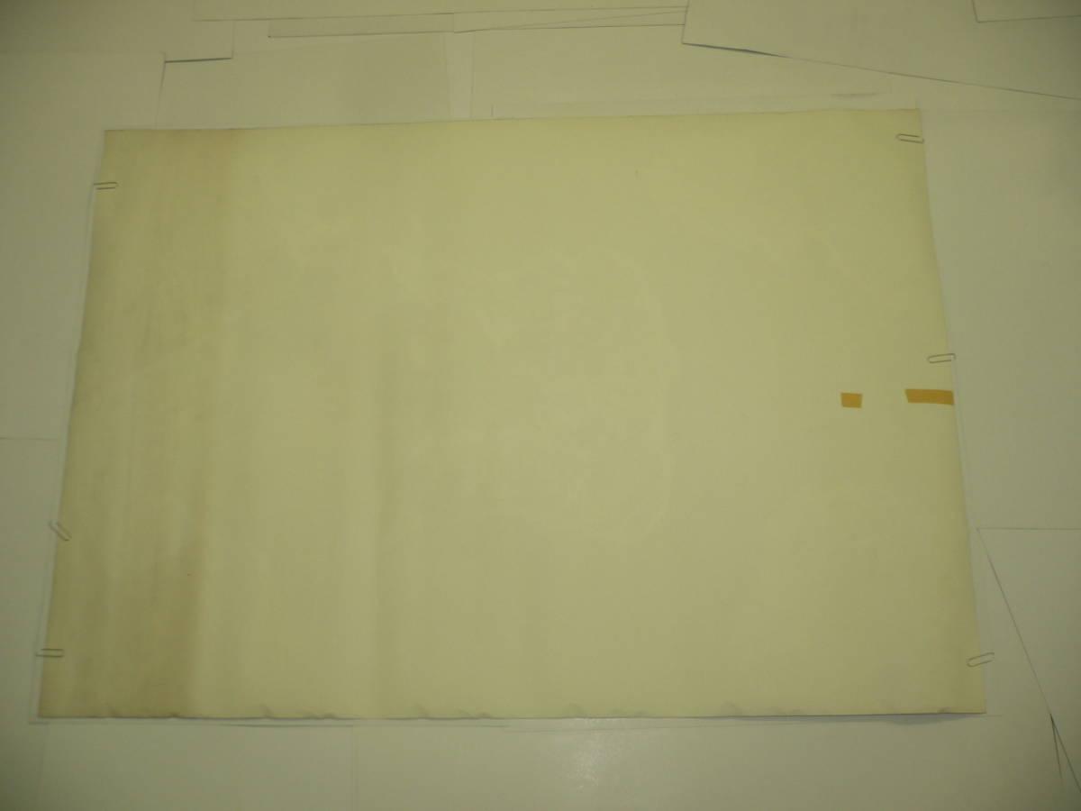 ◆100直筆サイン入り 古いファッションブランド広告ポスター④「ATSUKI ONISHI 大西厚樹 春・夏コレクション'86」オリーブ/80年代/約B1_画像4