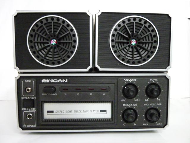 超お宝 8トラックステレオプレーヤー AC/DC 2電源 MADE IN JAPAN おまけに8トラックMUSICテープ20巻ケース付き_画像1