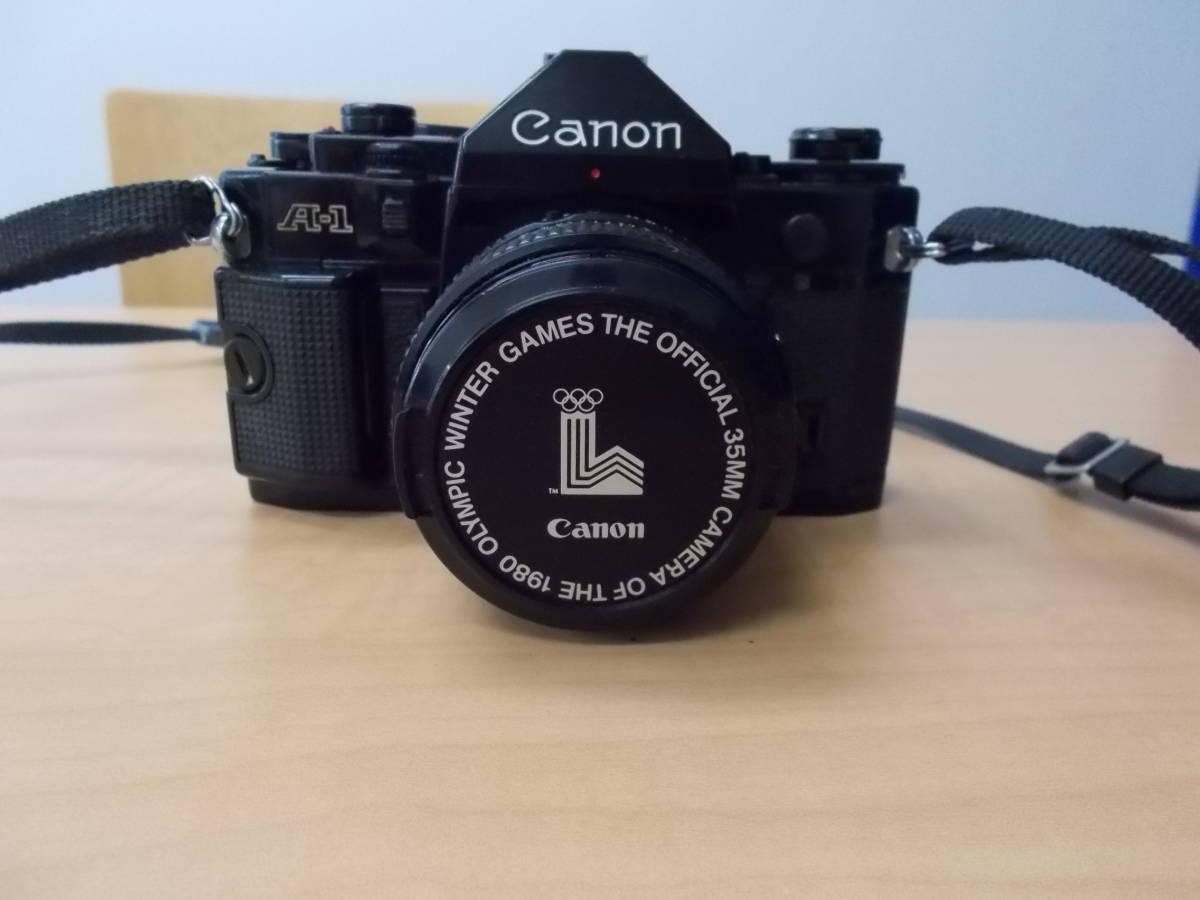 CANON キャノン A-1 レンズ FD 50mm 1:1.4 FD 135mm 1:2.8_画像2