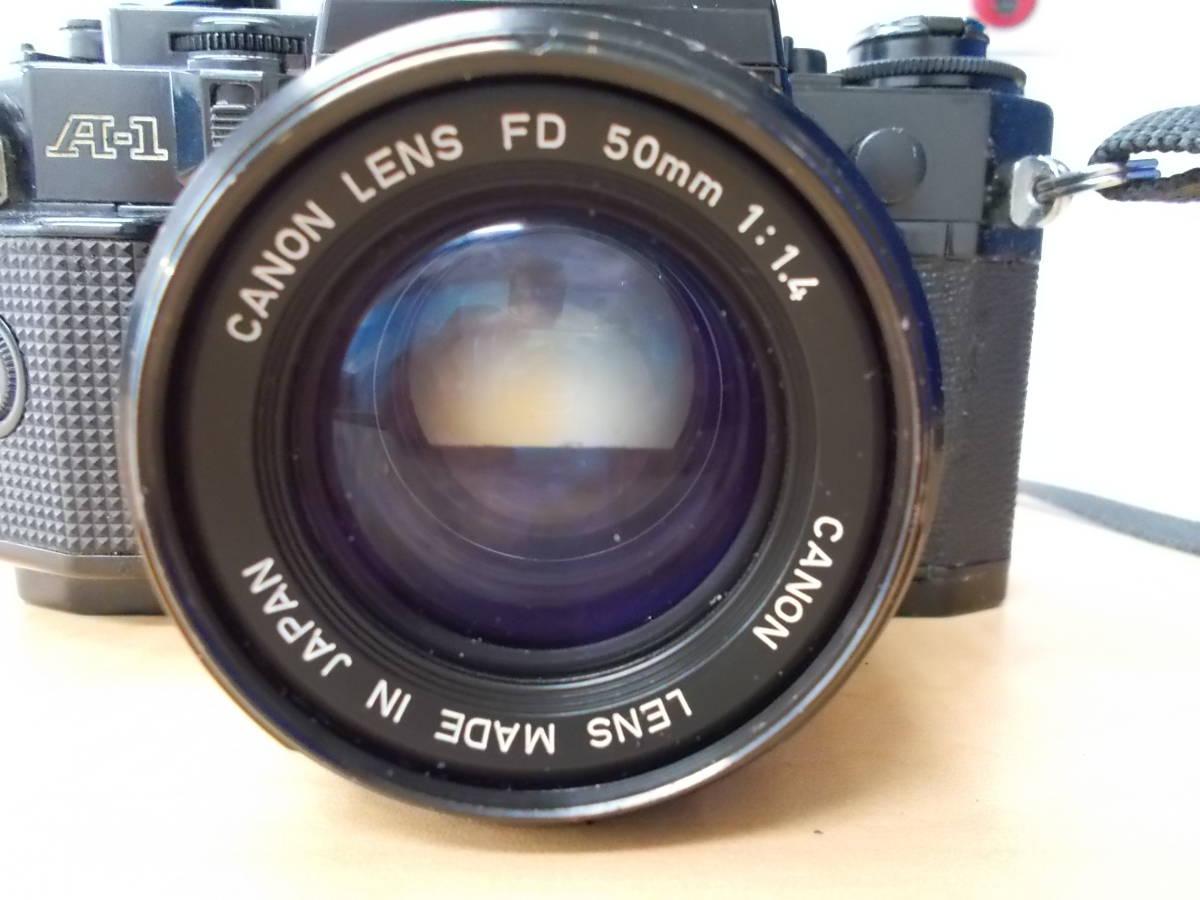 CANON キャノン A-1 レンズ FD 50mm 1:1.4 FD 135mm 1:2.8_画像3