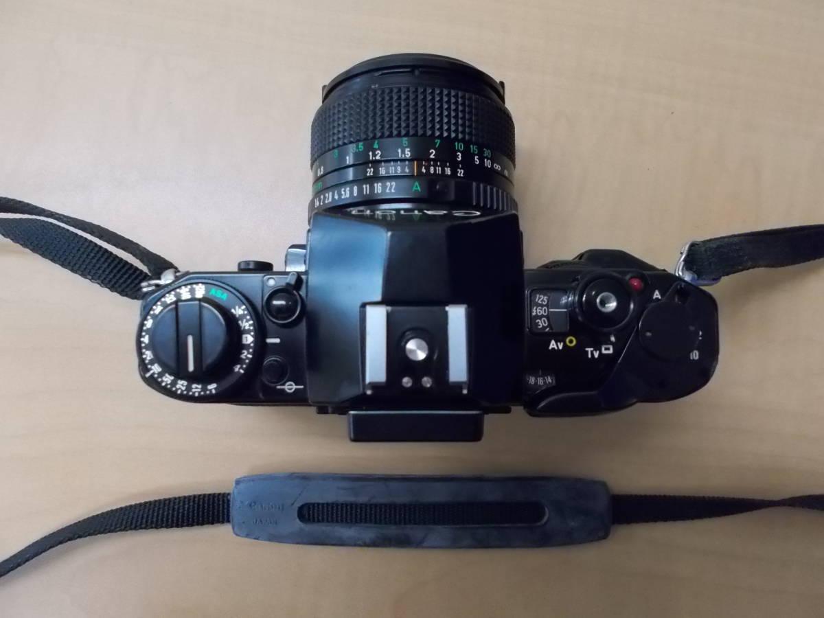CANON キャノン A-1 レンズ FD 50mm 1:1.4 FD 135mm 1:2.8_画像4
