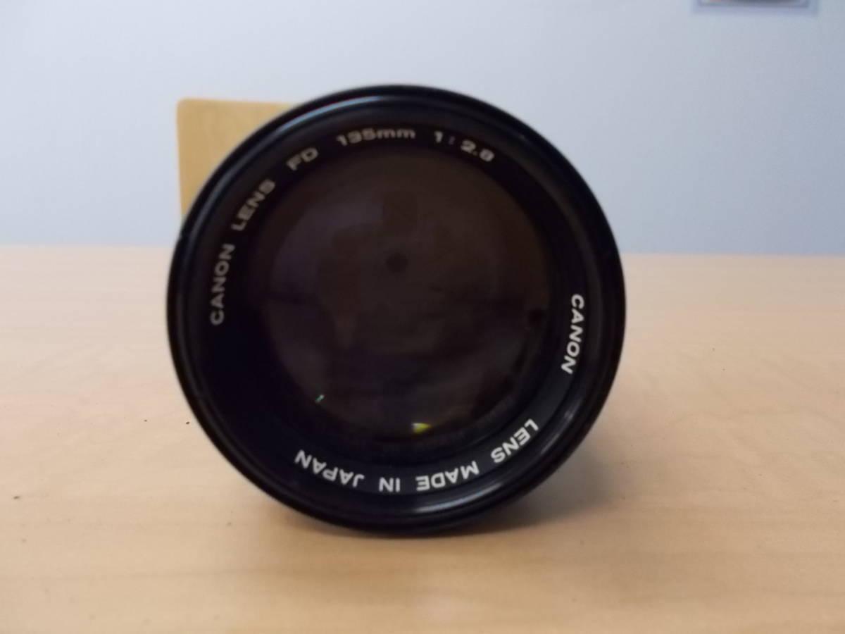 CANON キャノン A-1 レンズ FD 50mm 1:1.4 FD 135mm 1:2.8_画像8