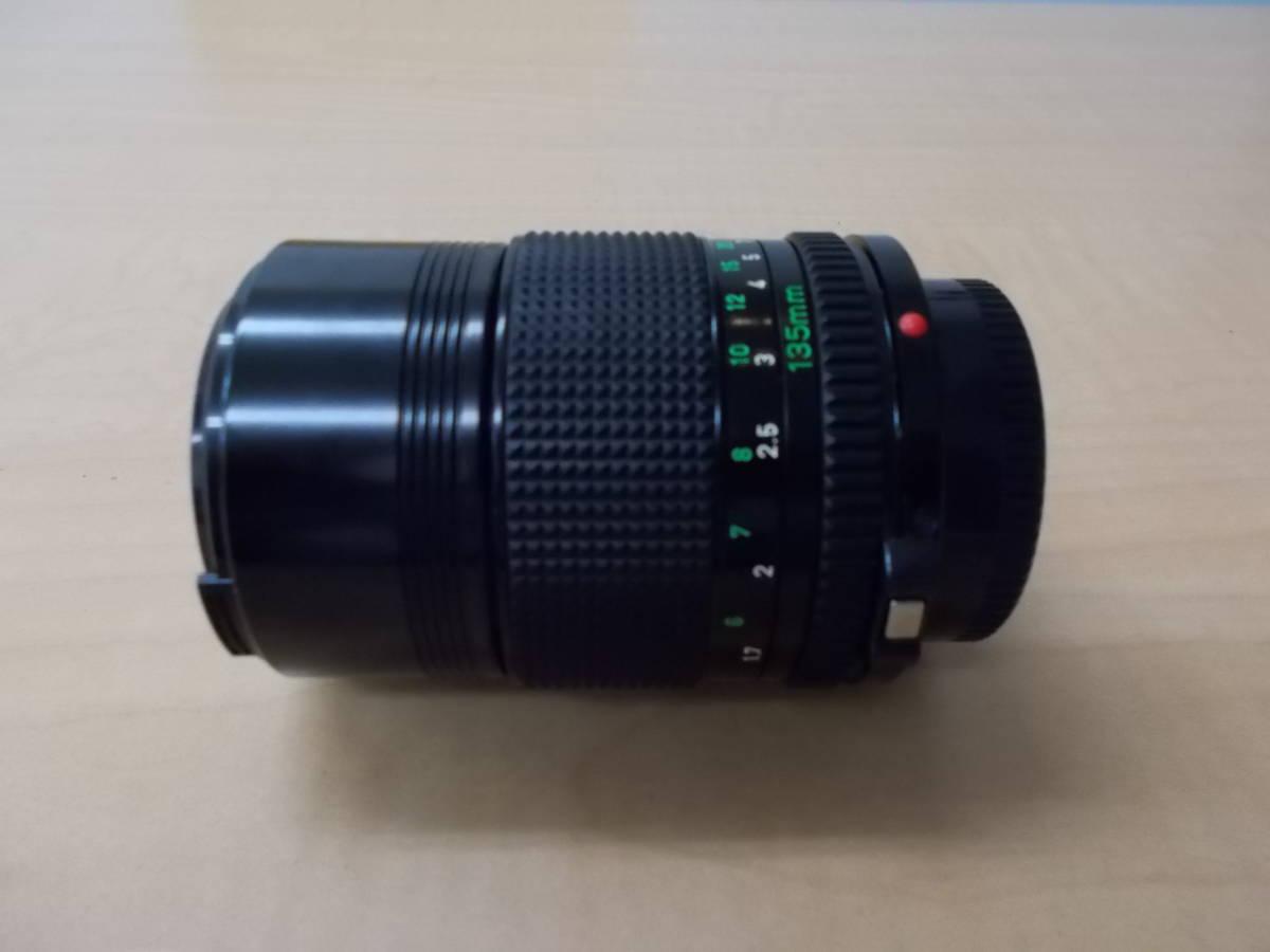 CANON キャノン A-1 レンズ FD 50mm 1:1.4 FD 135mm 1:2.8_画像9