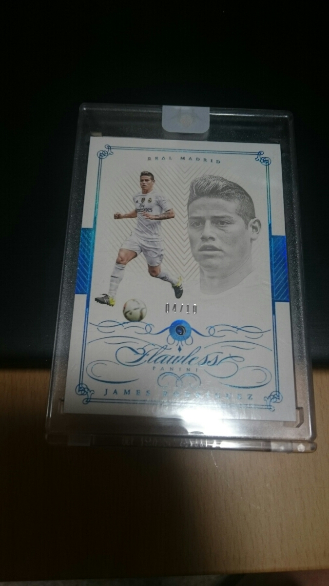 15-16 Flawless Soccer JAMES RODRIGUEZ /10 ハメス・ロドリゲス_画像1