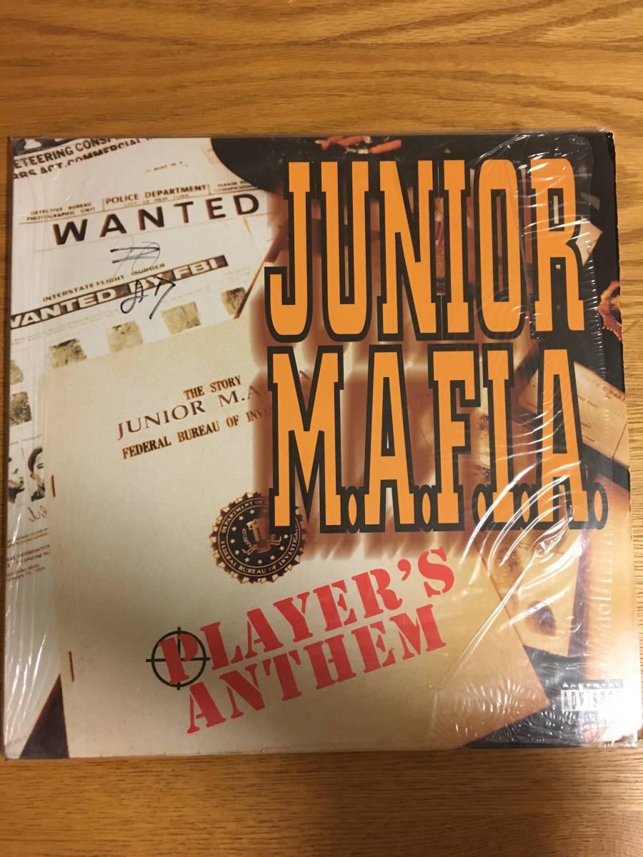 JUNIOR M.A.F.I.A / PLAYER'S ANTHEM 12インチ レコード HIP HOP ヒップホップ クラブミュージック_画像1