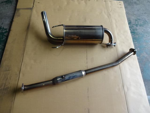 ユーノス マツダ ロードスター NA6 NA8 2寸管ハーフsplマフラー RS FACTORY STAGE 社外マフラー_画像4
