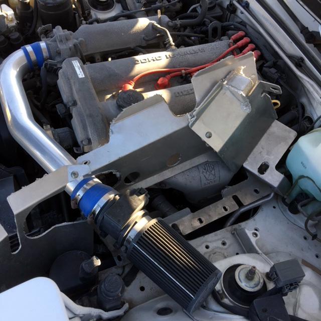 ロードスター ARCインテークチャンバー一式 フル遮熱板付き NA8C_画像10