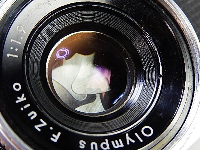 ★美品 オリンパス  ペンD  露出計作動OK  全モルト交換・点清掃・作動確認済 _画像3
