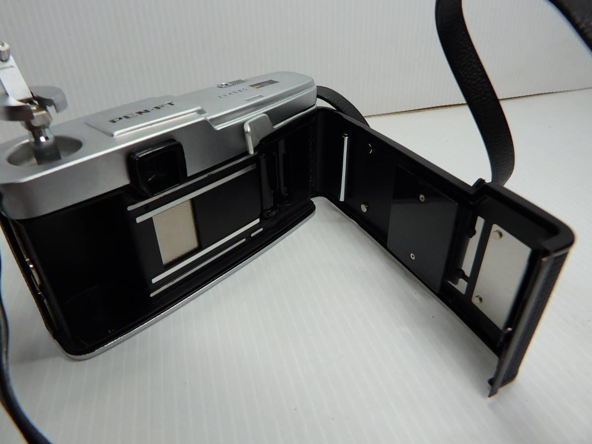 オリンパス MFハーフ判一眼レフカメラ PEN-FT レンズ F.Zuiko Auto-s f1.8 38mm OLYMPUS 純正ケース付き 管KA0415_画像6