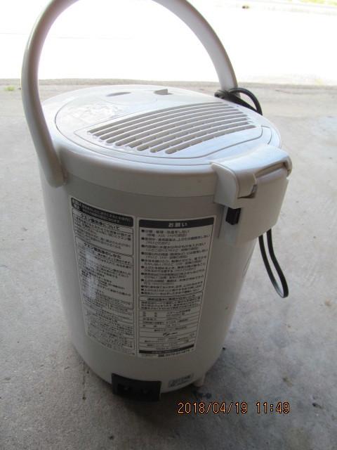 象印 EE-RD50型 スチーム式加湿器 2012年 中古 作動品_画像2