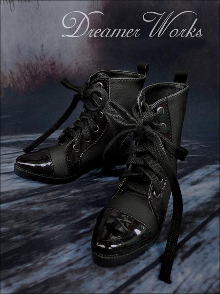 即決!SD13/SD17少年編み上げブーツエンジニアブーツドール スーパードルフィー おもちゃ ゲームドール靴 シューズ靴18cwx003_画像1