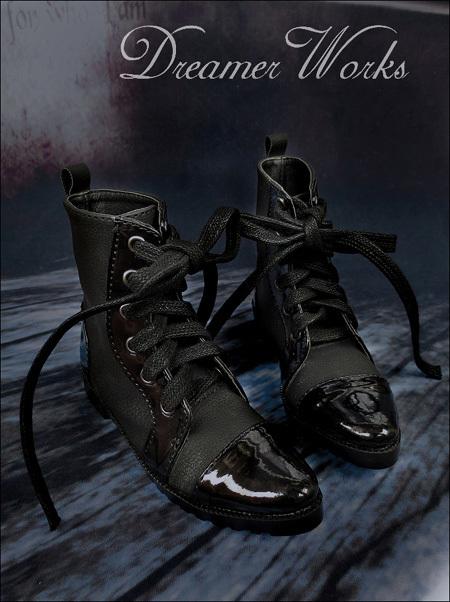 即決!SD13/SD17少年編み上げブーツエンジニアブーツドール スーパードルフィー おもちゃ ゲームドール靴 シューズ靴18cwx003_画像2