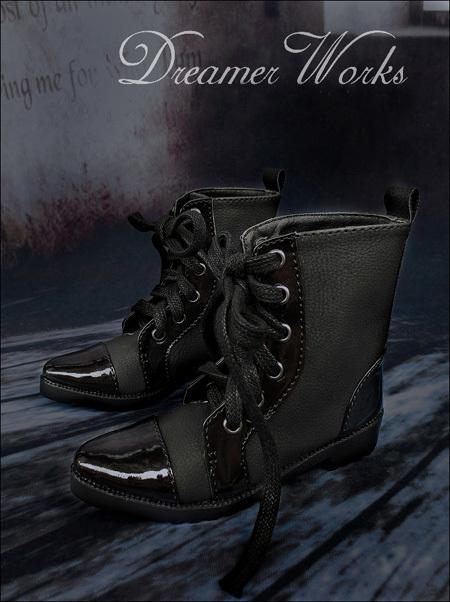 即決!SD13/SD17少年編み上げブーツエンジニアブーツドール スーパードルフィー おもちゃ ゲームドール靴 シューズ靴18cwx003_画像3
