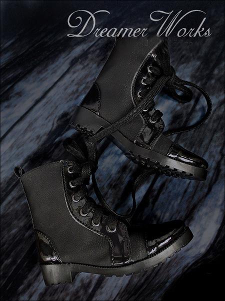 即決!SD13/SD17少年編み上げブーツエンジニアブーツドール スーパードルフィー おもちゃ ゲームドール靴 シューズ靴18cwx003_画像4
